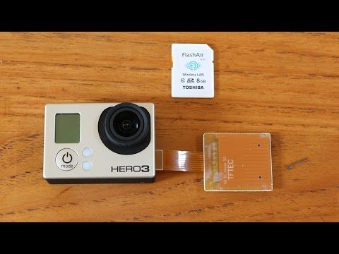 This video shows how to use Wifi SD cards with GoPro Hero 3 and 3+ cameras. All required parts are listed in this video description.