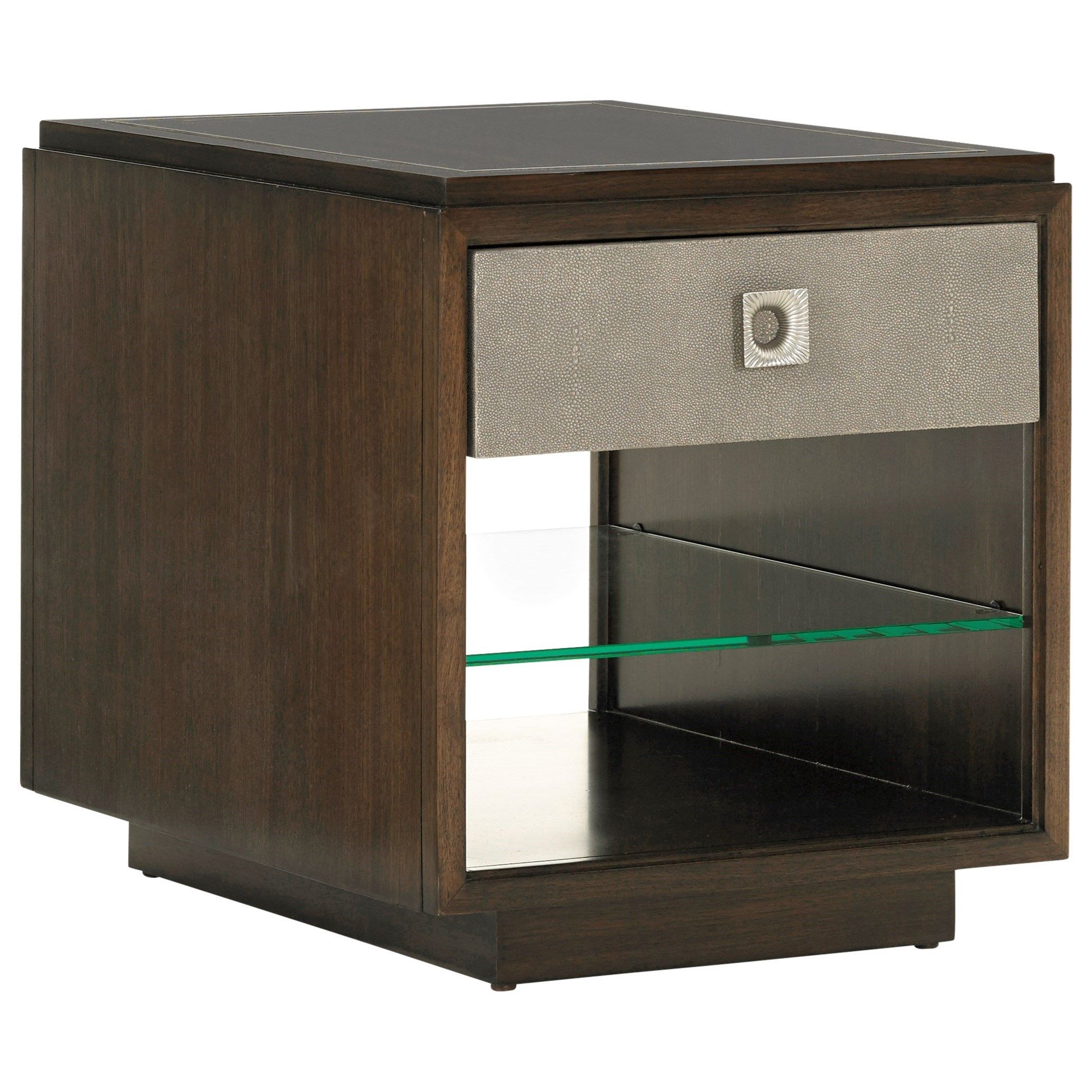 MacArthur Park Chenault Storage End Table by Lexington at Baer's Furniture