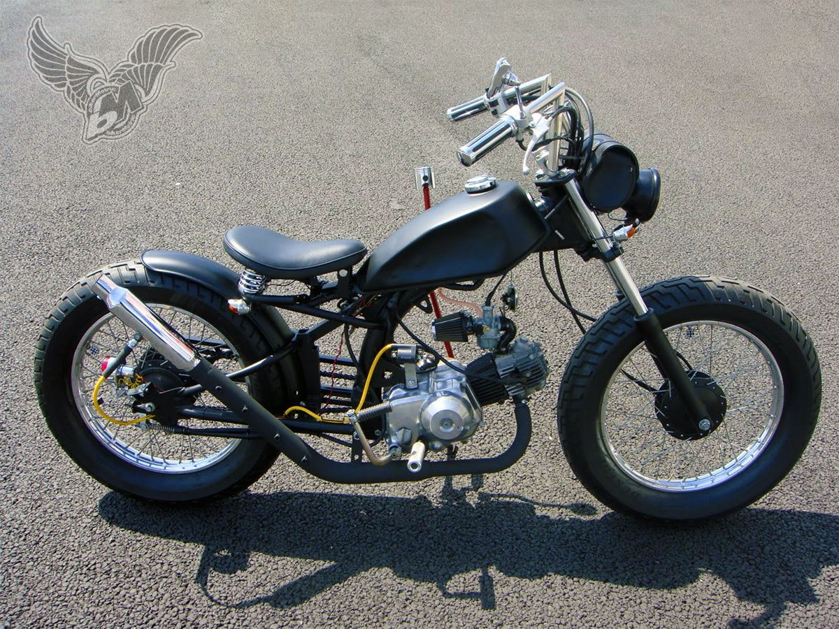1969 Honda CT70 Nighthawk Cafe Racer DREAM MOTOR BIKE CYLES