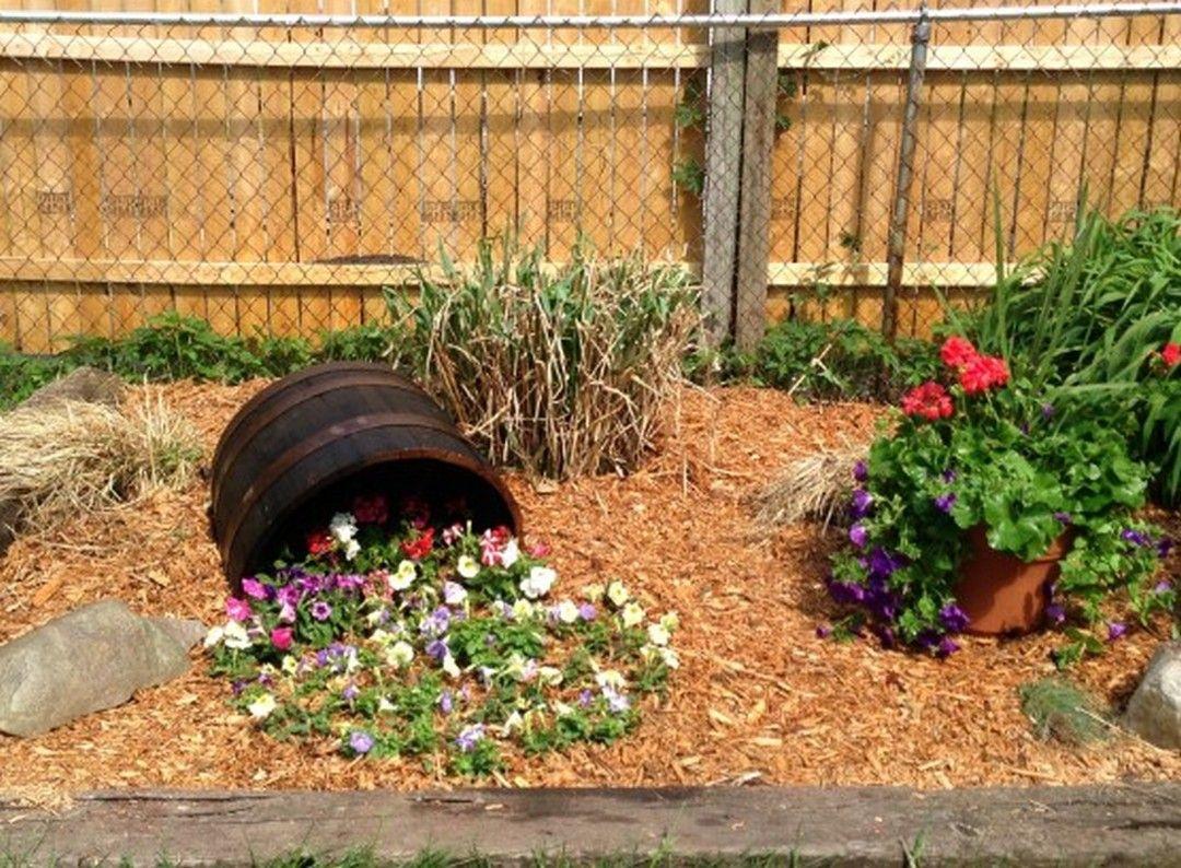 6 Interesting Spilled Flower Pot Ideas For The Backyard Your Home Decortheraphy Com In 2020 Flower Pots Garden Pots Garden Landscape Design