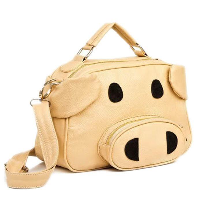 Cute Kitsch Pig Shoulder Bag part of our great kawaii shoulder bags ... fa78400507