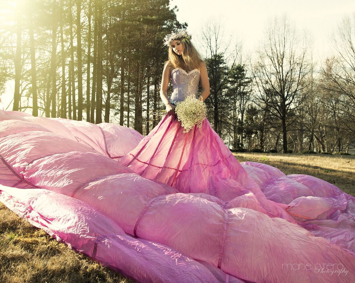 parachute dress my style parachutes dresses and parachute skirt outdoor photography pink styling concept photo by marie otero model savannah