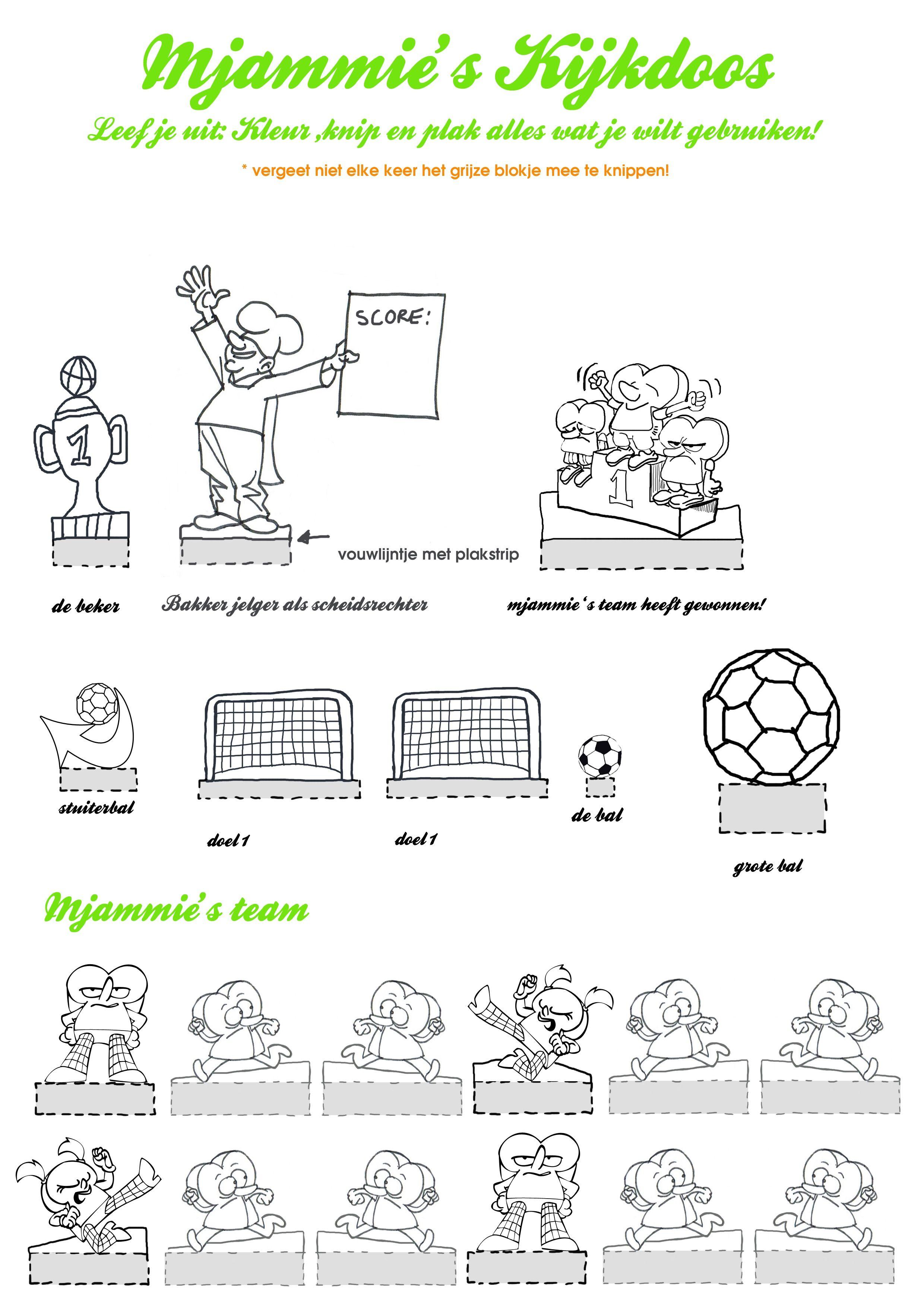 Pin Van Angelique En Jacco Bekkema Op Voetbal Knutselideeen Voetbal Sport Voetballers