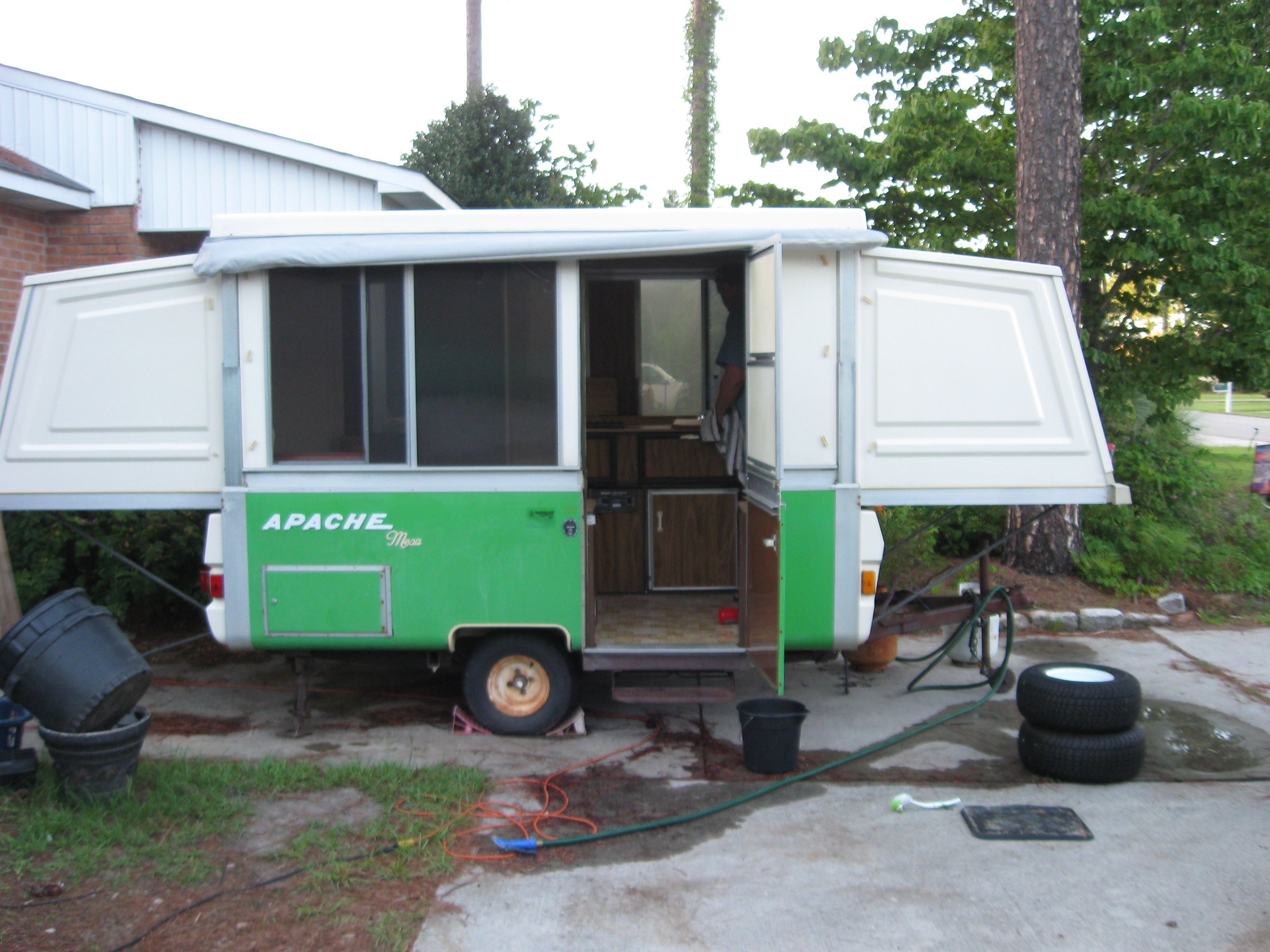 Our 1977 apache mesa camper its vintage and the perfect size