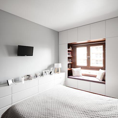 Apartamento Terraços da Ponte por Estúdio AMATAM Bedrooms, Kids