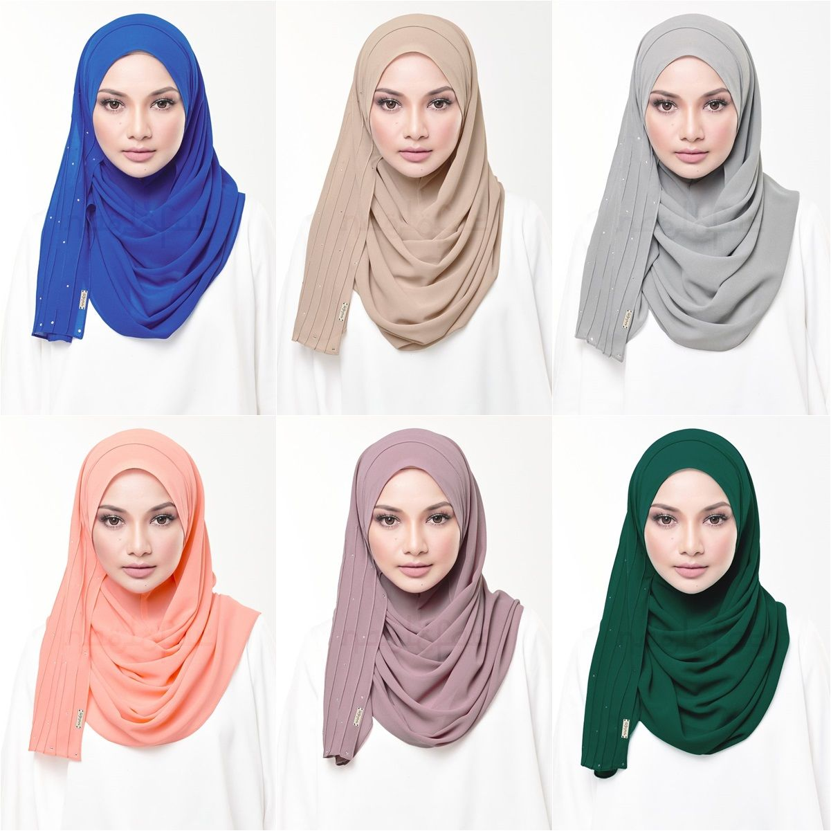Diana Naelofar Hijabs By Neelofa Hijab Hijab Tutorial Hijab Scarf