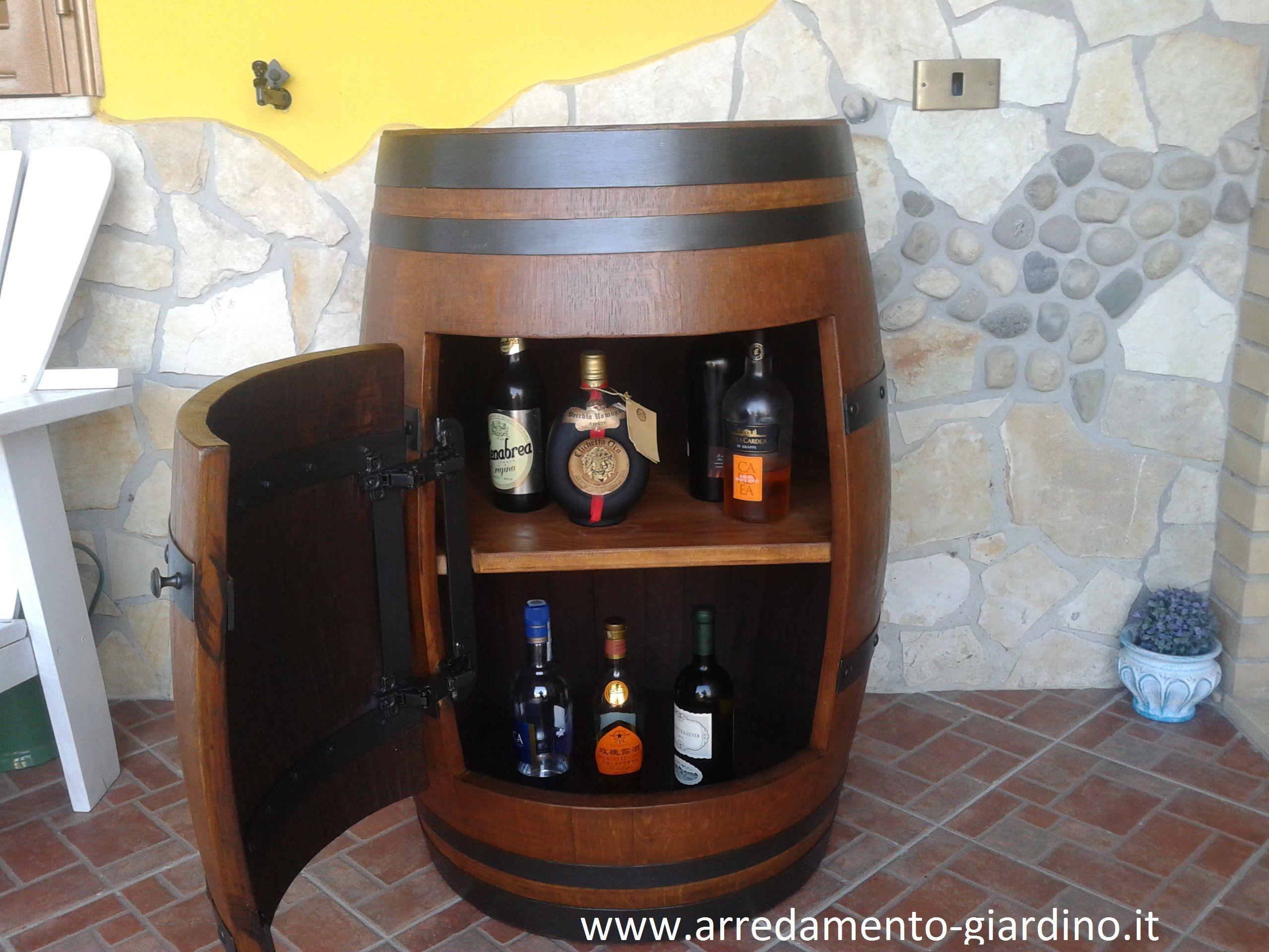 Botte Arredamento ~ Cantinetta realizzata con una botte antica. per prezzi e altri