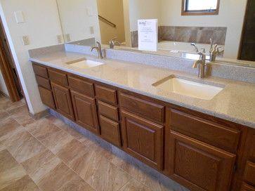 Bathroom Sinks For Quartz Countertops master #bathroom remodel project - quartz countertops with