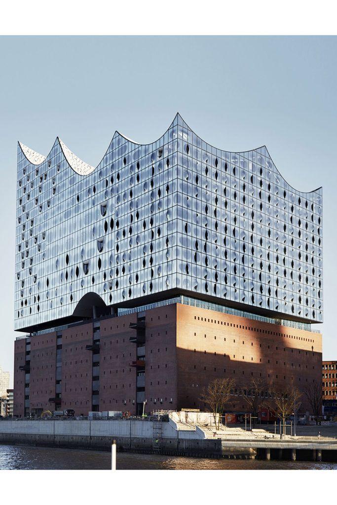 The Elbphilharmonie Hamburg Surface Architecture Landmark Architecture Artists Beautiful Architecture