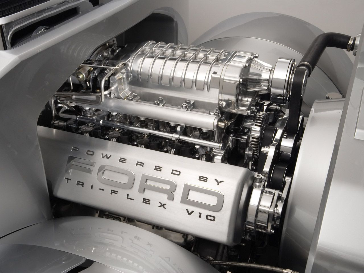 2006 Ford F 250 Super Chief Concept Engine 1280x960 Wallpaper Ford Pickup Trucks Ford F250 Ford