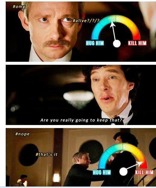Yes That S Exactly What Happened Sherlock Sherlock Bbc