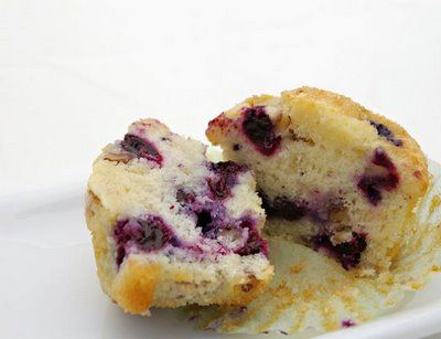 Noshings: Bakery Blueberry Muffins