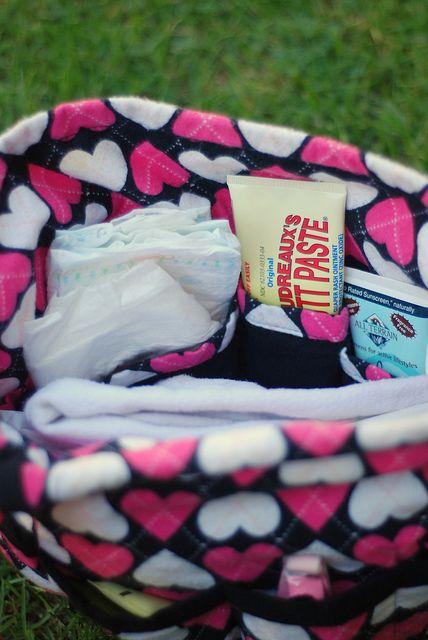 Bingo Found A Diy Diaper Bag Organizer