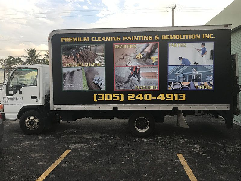 box truck full wrap Truck lettering, Car wrap, Vinyl
