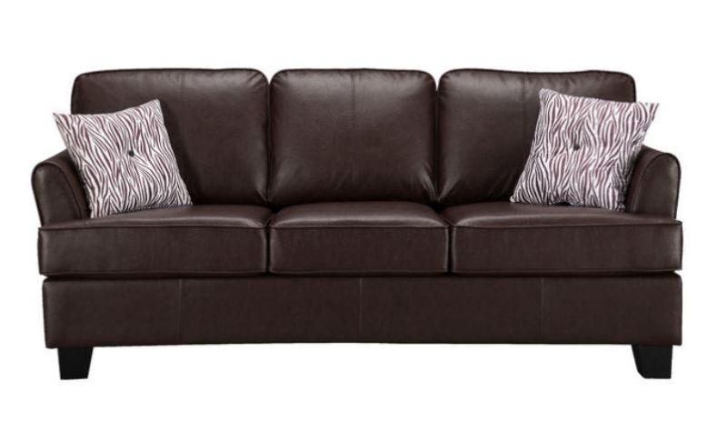 Enzo Faux Leather Queen Sleeper Sofa Faux Leather Sofa Bed Leather Sofa Bed Faux Leather Sofa Leather Sofa