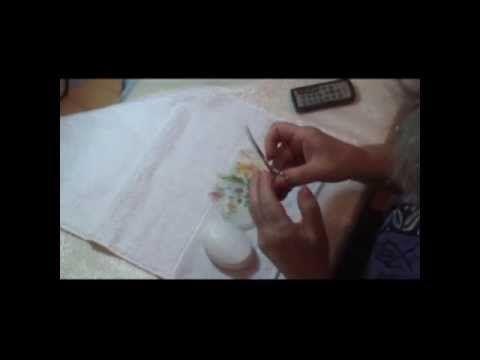 Lu Heringer - DECOUPAGEM EM SABONETE + CORTE PERFEITO DE DECOUPAGEM  Decoupage σε σαπούνι