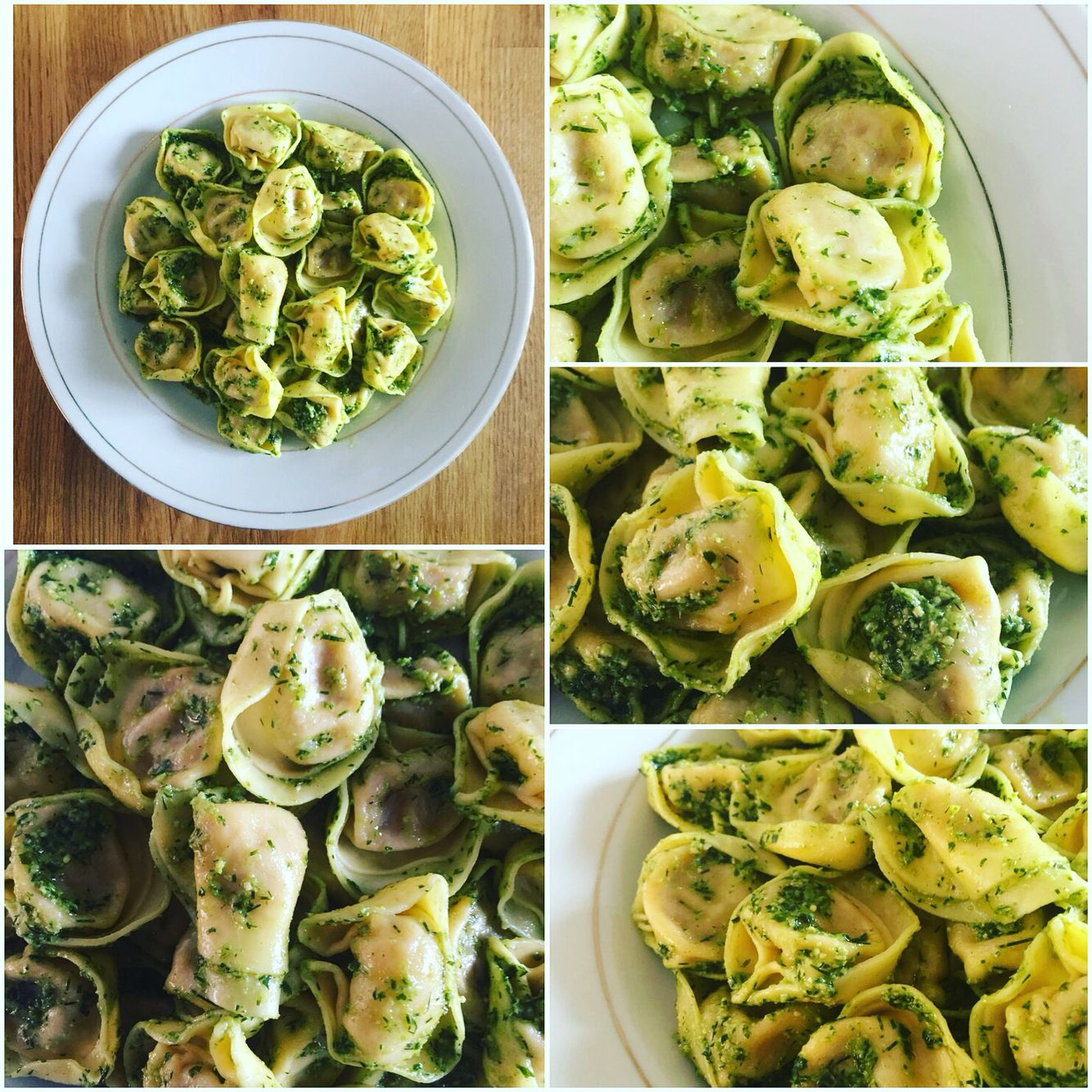 Eat your #carbs in style: I tossed some #storebought #cheese, #tomato and #basil #tortellini with #pesto I made the other day for an #expresslunch before going to work. This is #musclefood that lifts the spirit! #domesticdude #eatright #fastcooking #food #food4gods #foodie #foodporn #nutrition #pasta #pastalover