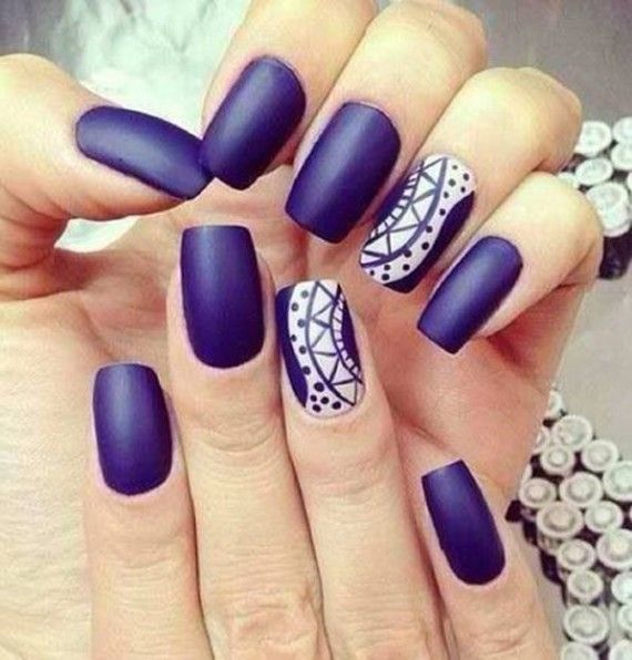 Purple #Nails #uñas color #purpura #indigo #morado #violeta | Nails ...