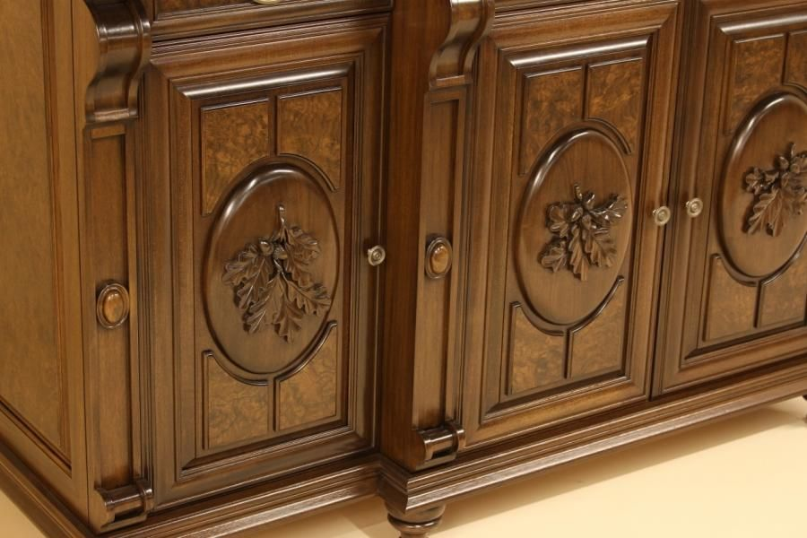 Two Sided Buffet - Woodworking creation by Dennis Zongker