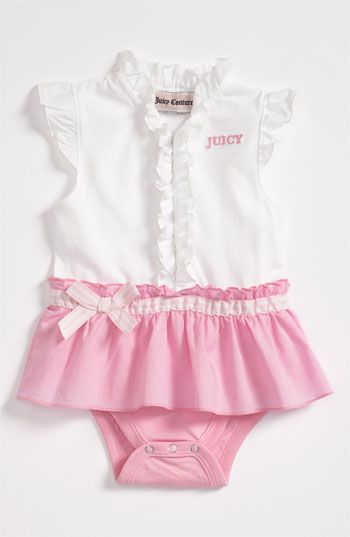 Juicy Couture Bodysuit Infant Nordstrom Juicy Couture Baby Baby Girl Clothes Girl Outfits