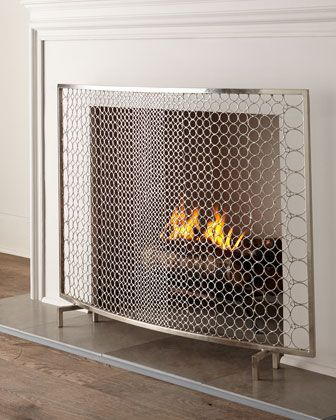 Sabrina Fireplace Screen Dream Home Fireplace Screens Home