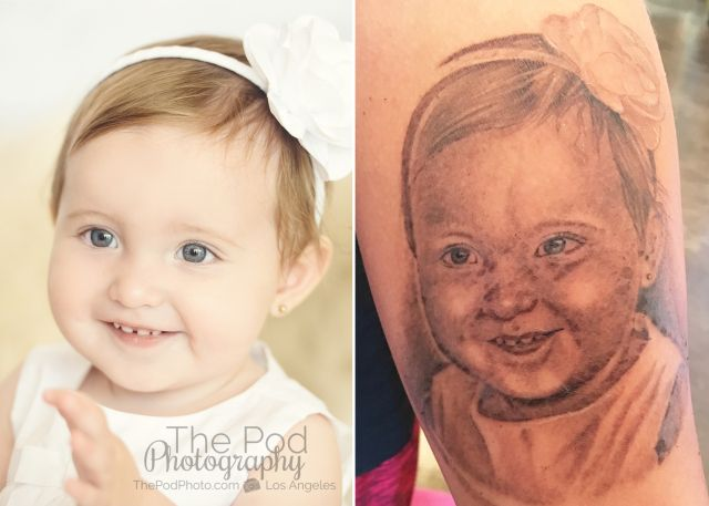 High-Voltage-Tattoo-Kat-Von-D-Portrait-Art-The-Pod-Photography-One-Year-Baby-Photos-Best-Los-Angeles-Studio