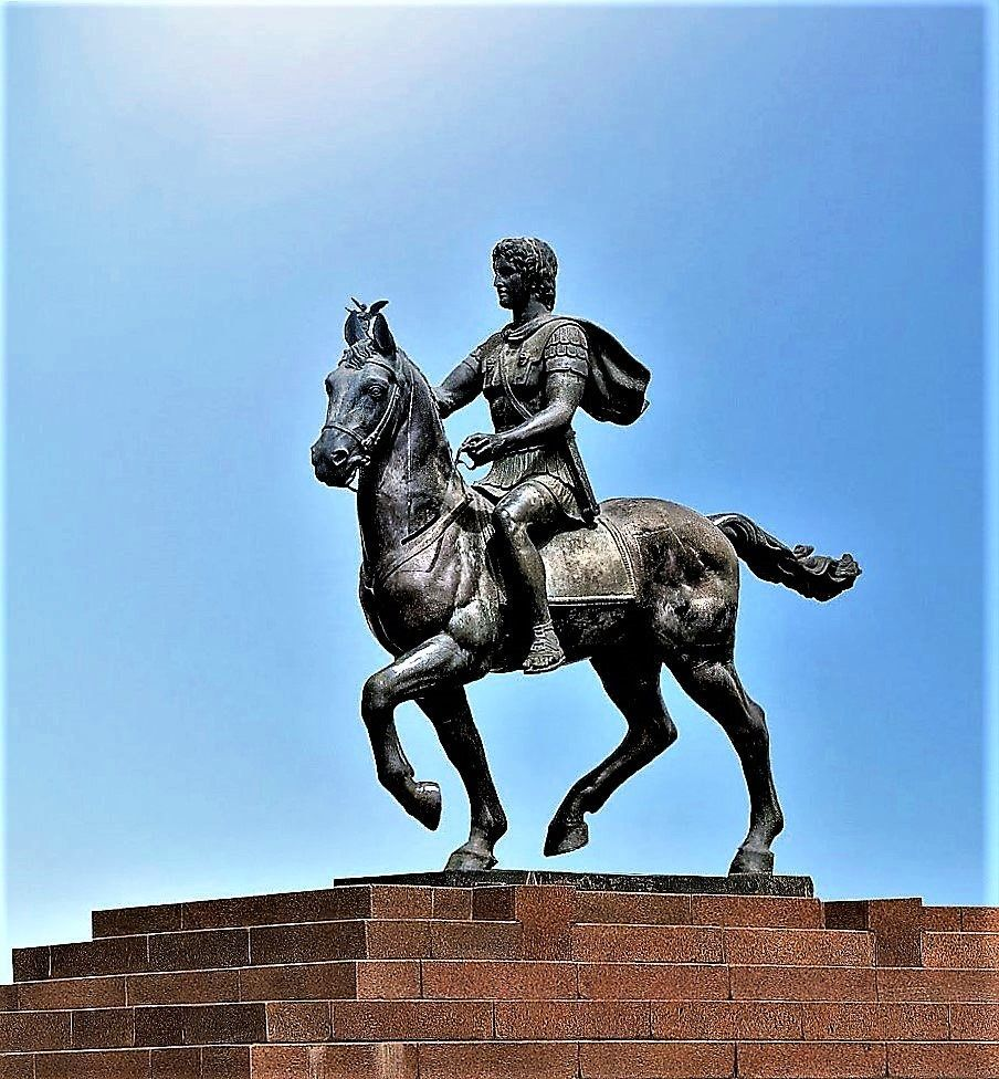 Alexander The Great, Statue