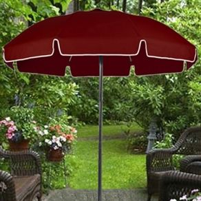 7 5 Ft Islanders Beach Umbrella With Valance Only 219 00 Free