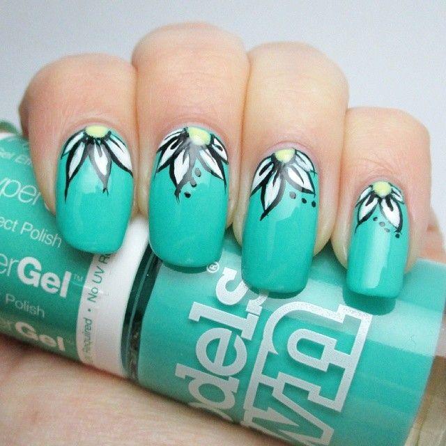 Nail Art Dan Extension Kuku: Instagram Photo By Lisas_nails1 #nail #nails #nailart