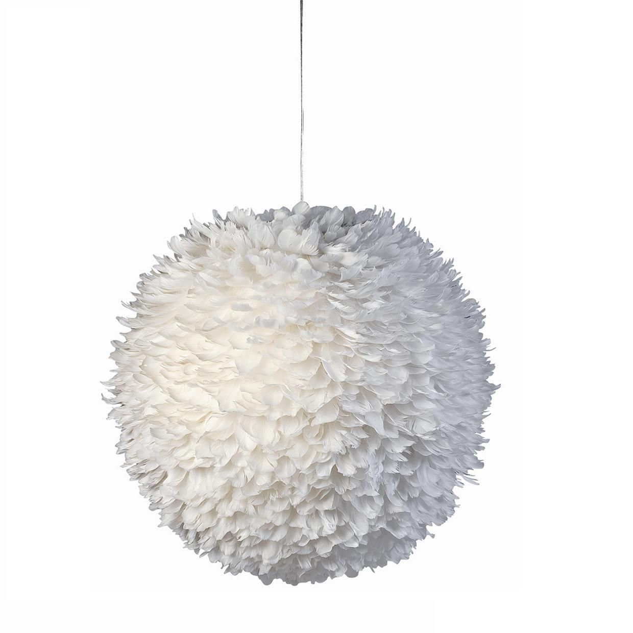 Suspension Papier Boule Suspension Boule Plumes Mat Lustre Design Suspension Design
