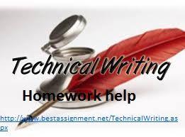 Technical writing homework help