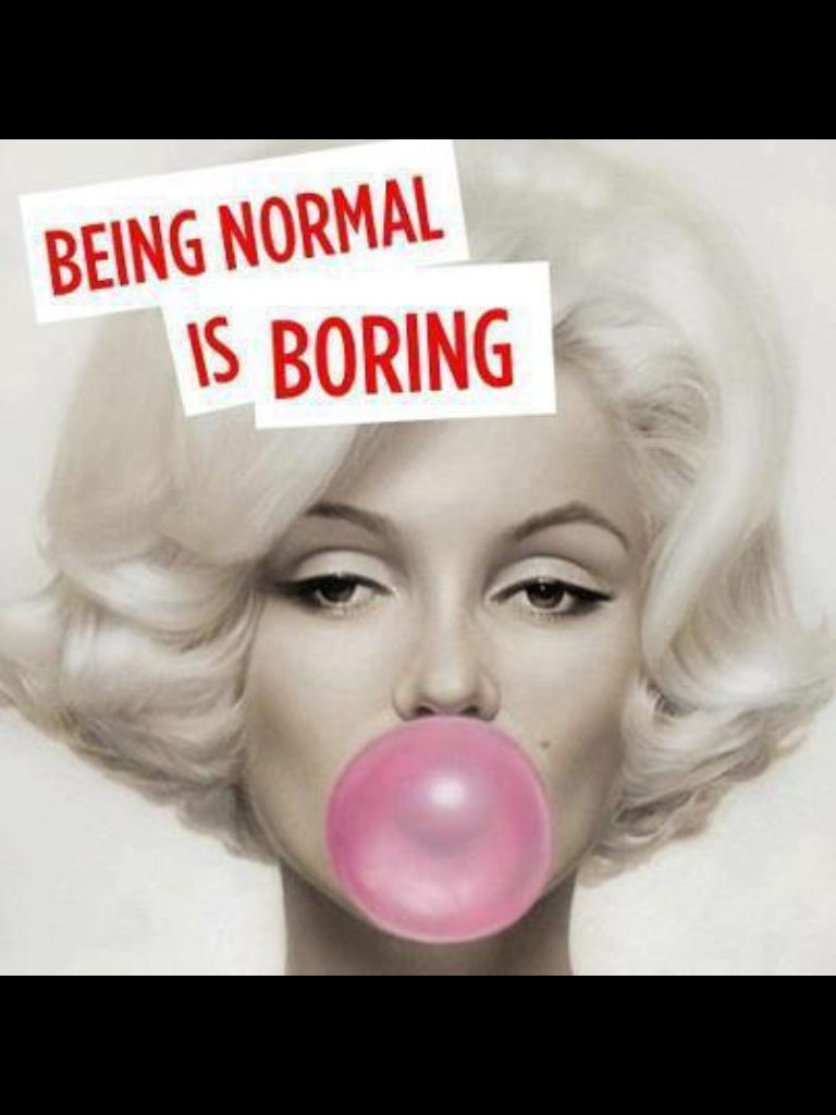 Blondes Definitely Have More Fun Marilyn Monroe Quotes Celebration Quotes Normal Is Boring