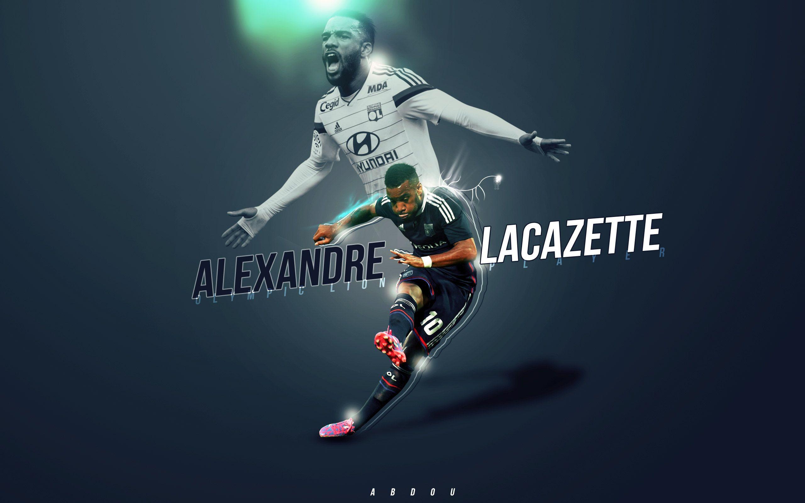 Alexandre Lacazette Wallpaper HD http