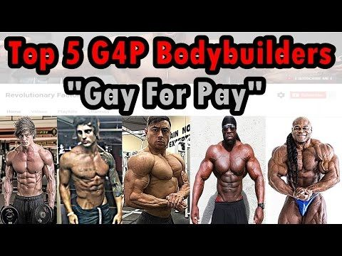 Gay for pay bodybuilders