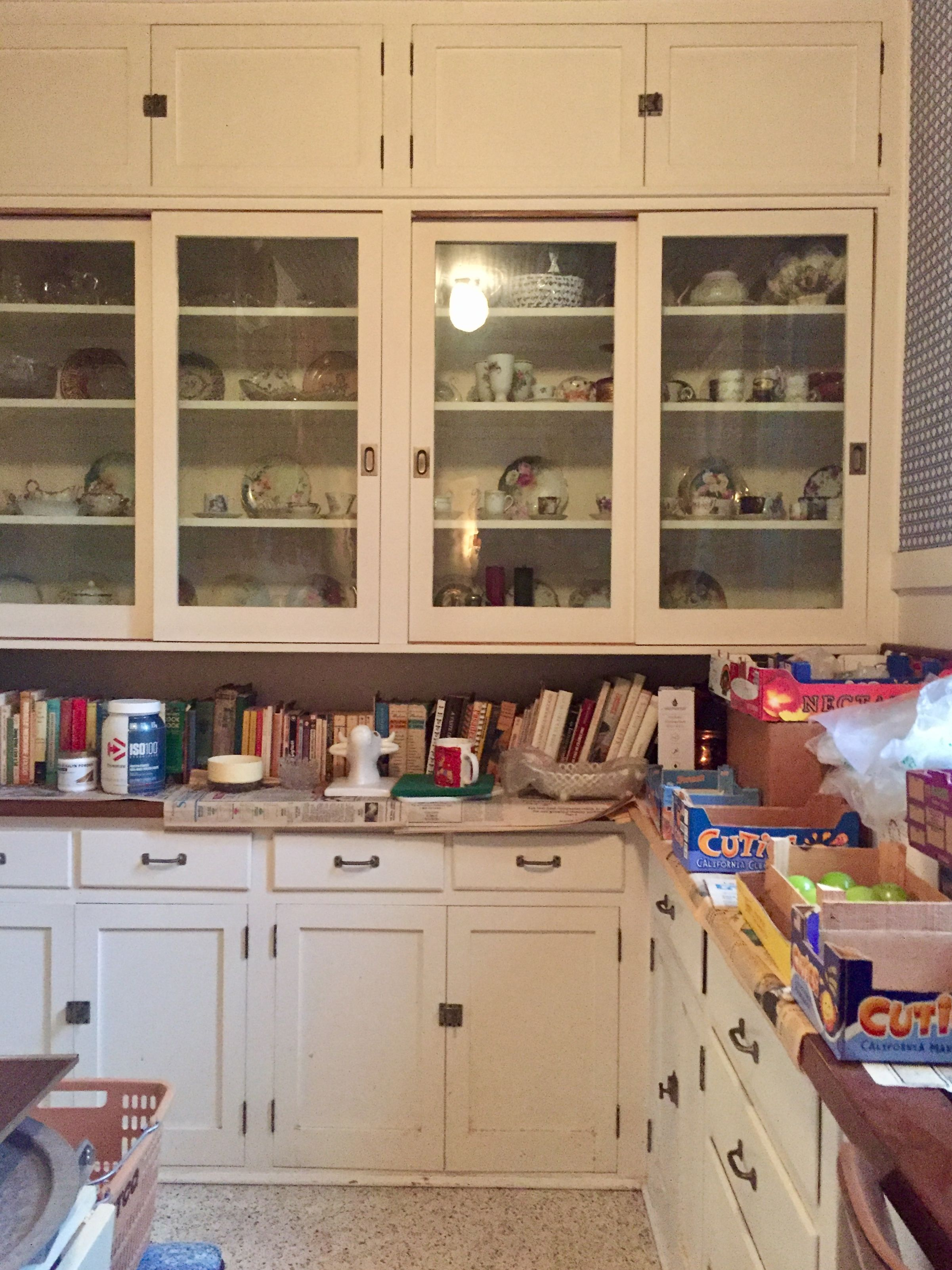 Pin By Brooke On Pasadena Butler S Pantries China Cabinet Kitchen Cabinets Butler Pantry