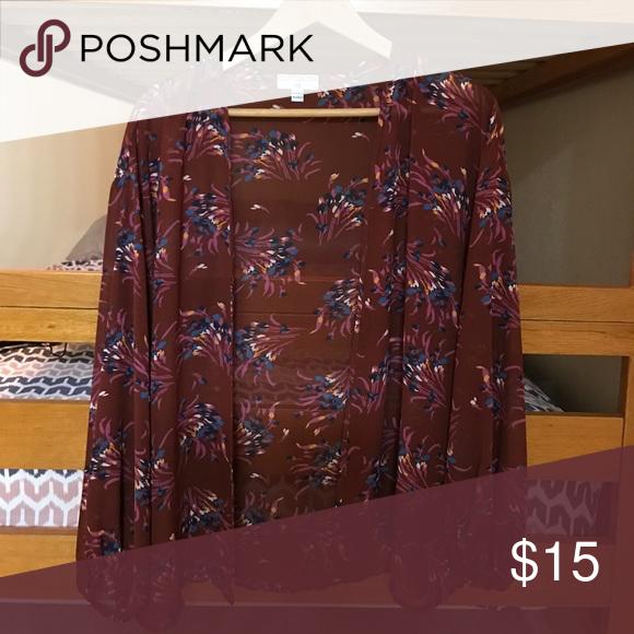 Floral Kimono. SIZE: XS Cotton On Sweaters Cardigans