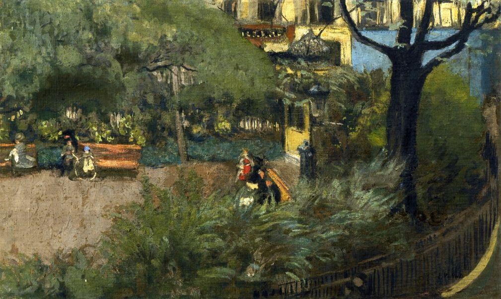 Square Berlioz-1915 by Edouard Vuillard VUILLARD (1868-1940