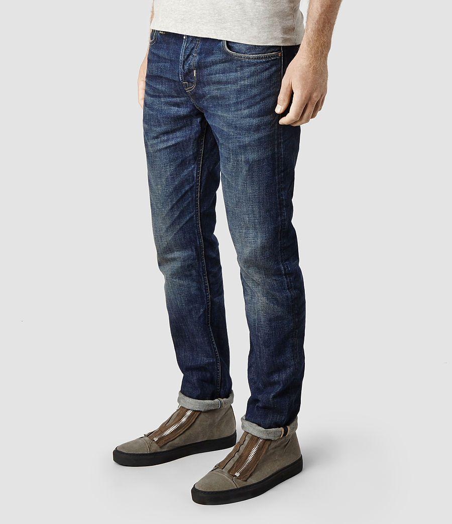 Mens Amori Iggy Jeans (Indigo) | ALLSAINTS.com