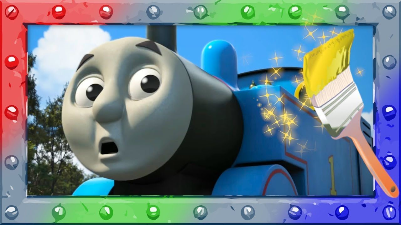 Magic Coloring with Thomas and Friends ♢ Learning and Coloring page ...