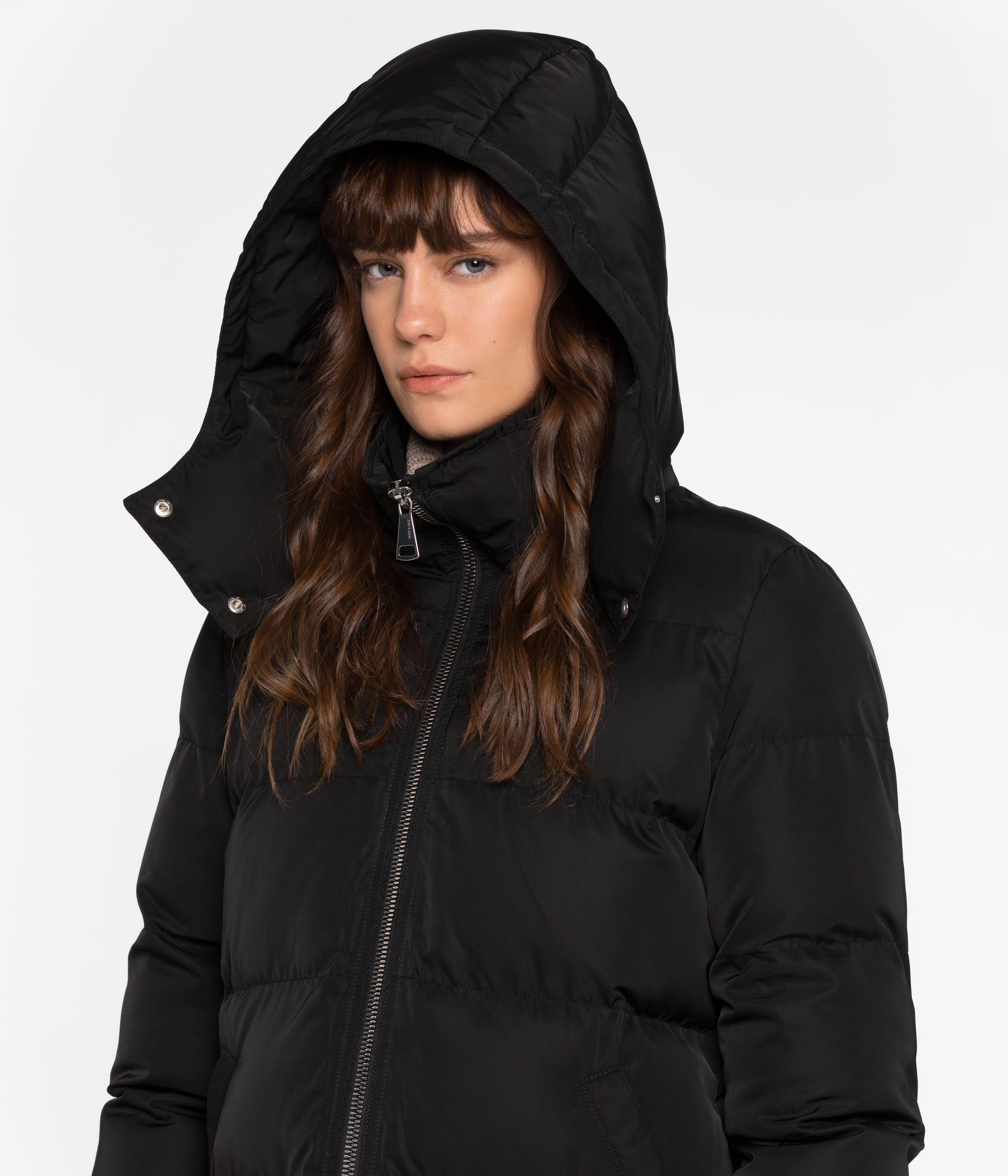 Giada Puffer Jacket Winter Wear Women Puffer Jackets Puffer Jacket Black [ 4000 x 3429 Pixel ]