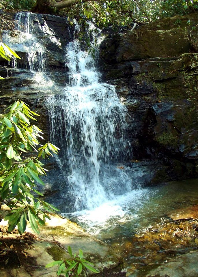 Secret Waterfall A Hidden Gem In Southwest Virginia Near The New