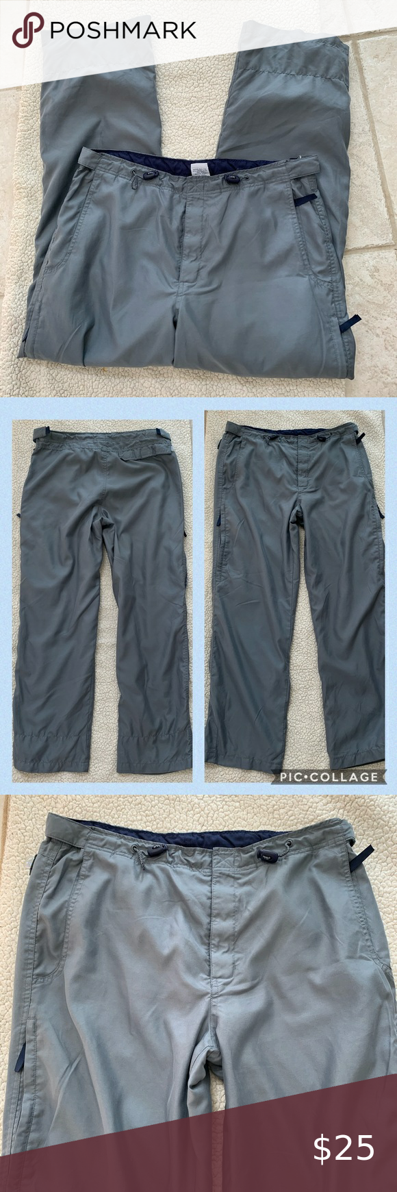 Old Navy Mesh Lined Track Workout Jogging Pants in 2020