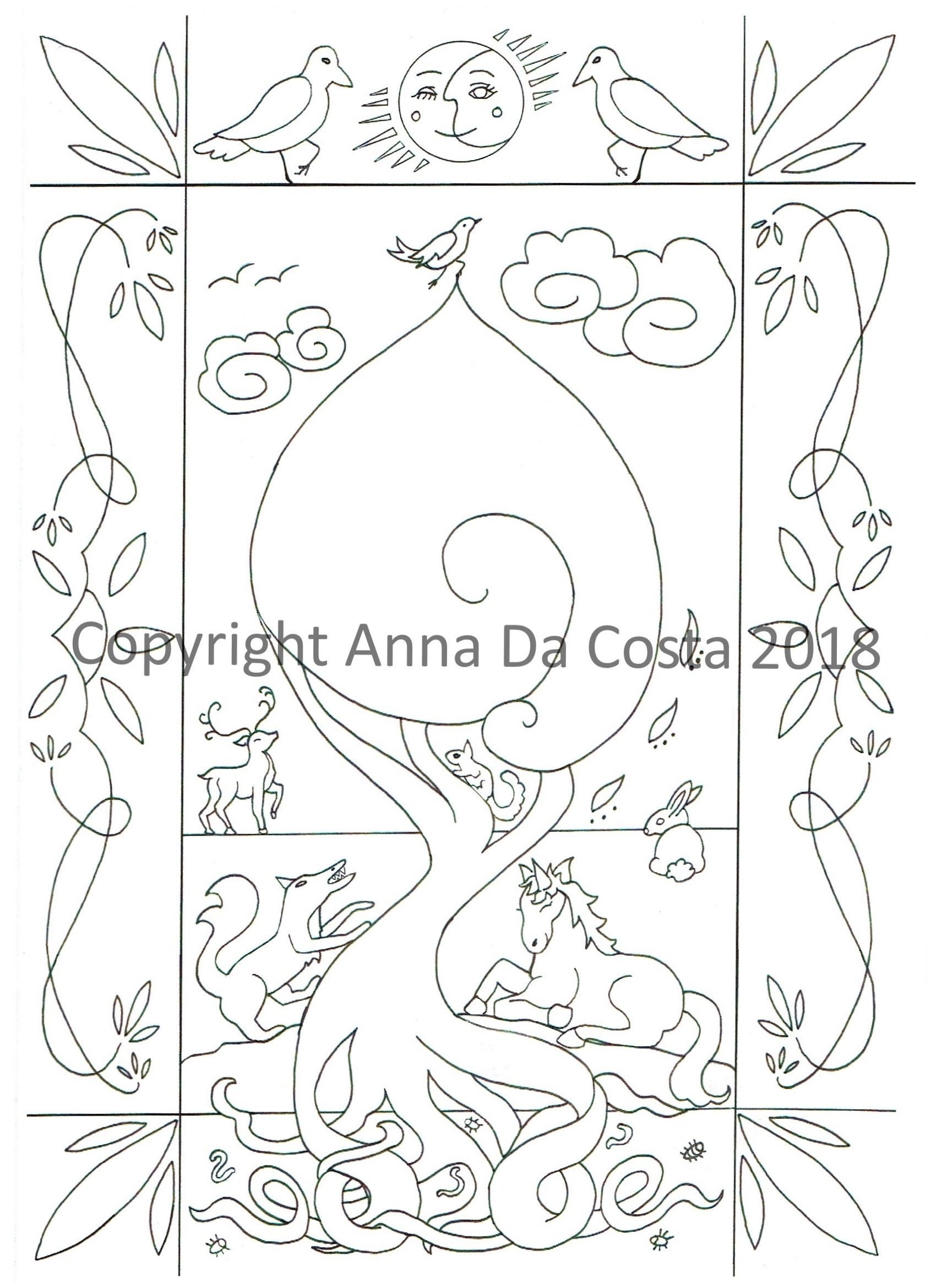 Fairies and nature colouring pack my colouring pages at