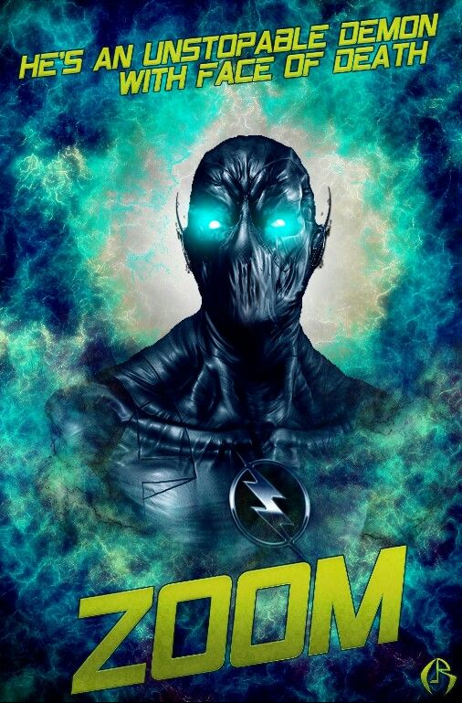 Zoom Fanart Poster Cw Theflash Fastest Man Alive Dc Comics