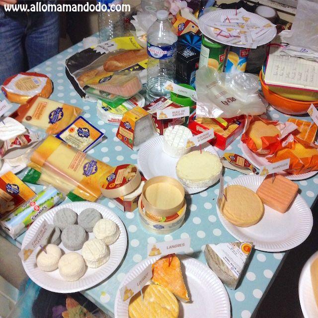 Idée conviviale du Week,end Le Repas de Fromages! (Fiches à imprimer!) ,  Allo Maman Dodo