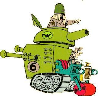 Corrida Maluca: Carro tanque