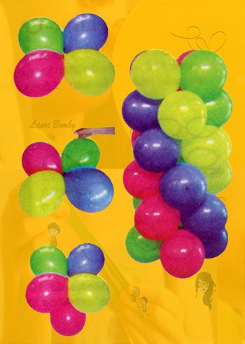 Aprende a armar una decoracin con globos de la forma mas fcil y