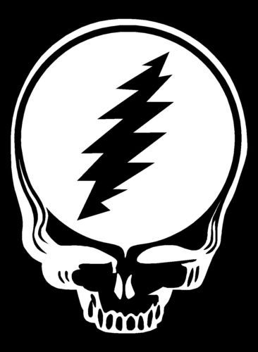 Steal Your Face Jerry Garcia Stencil Decal Grateful Dead 4