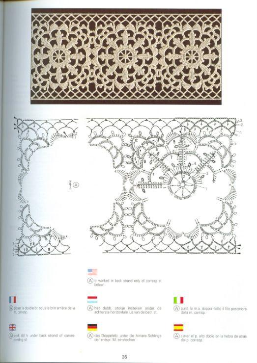 Un único libro de punto de la serie DMC. Creaciones Crochet D\'or ...