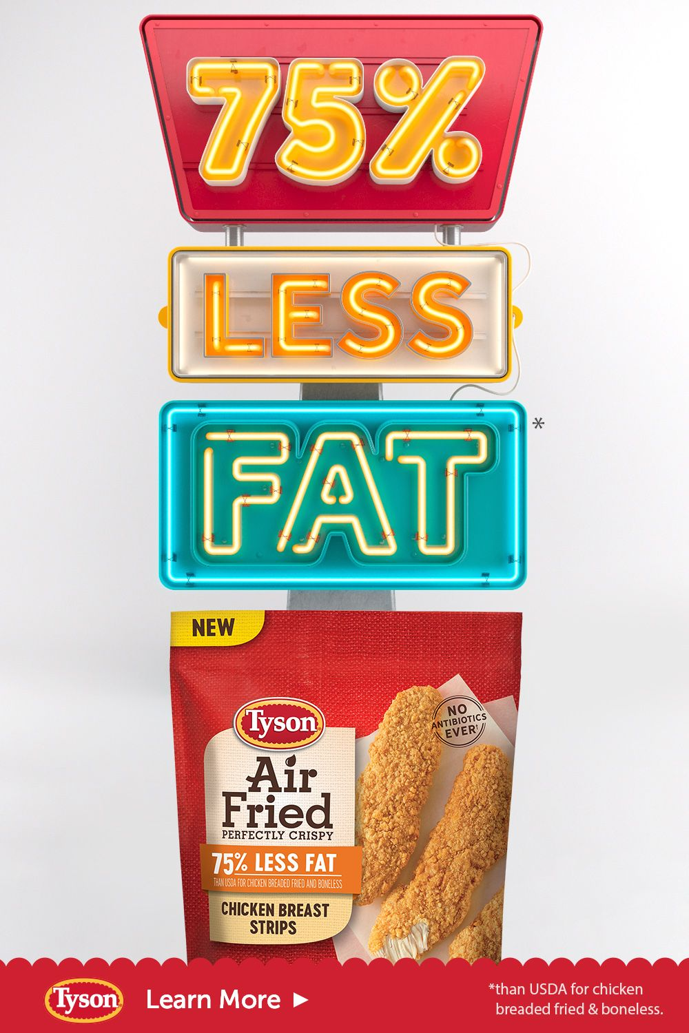 New Tyson Air Fried Chicken Is The Lightest Fried Chicken We Ve